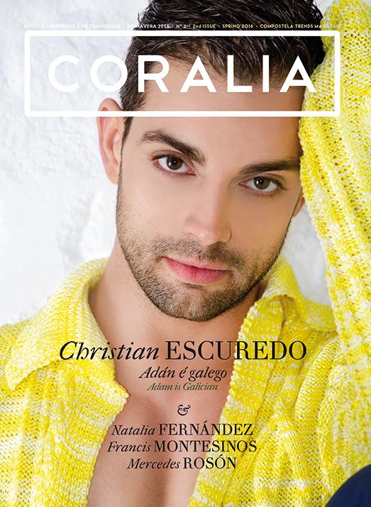 Christian Escuredo, actor. portada
