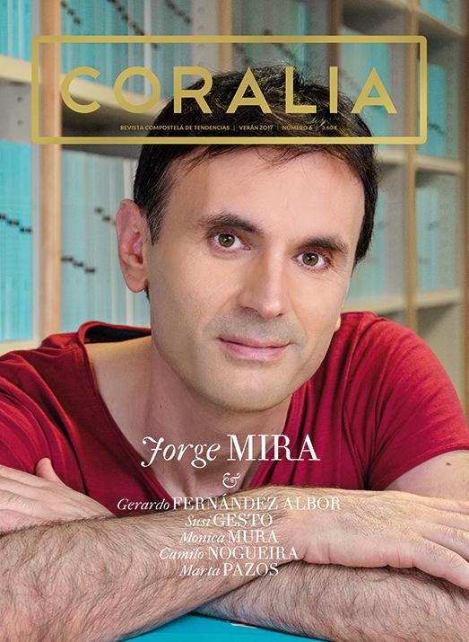 Jorge Mira, catedratico da usc, fisico, portada coralia numero 6