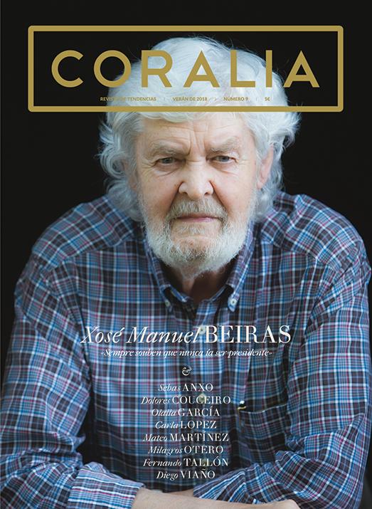 Xose Manuel Beiras, portada coralia 9
