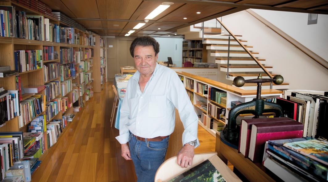 Xesús Couceiro, fundador da Libraria Couceiro