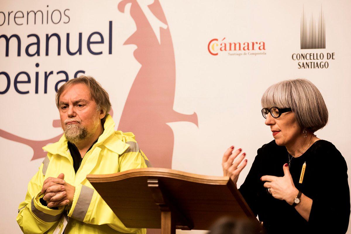 roberto leal e gloria rico, premios Manuel Beiras 18