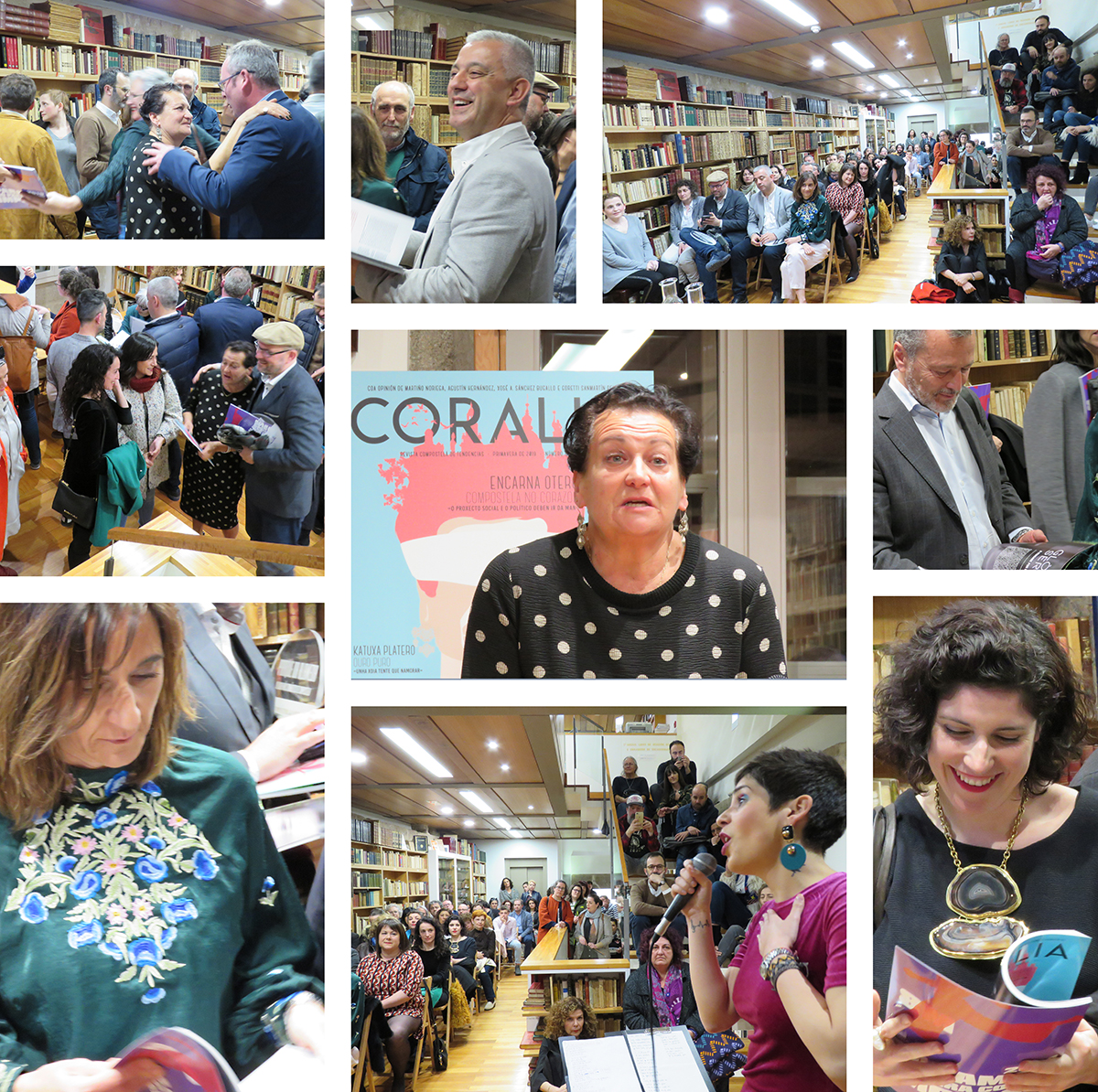 Coralia na libraria Couceiro